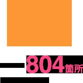 都市公園数804箇所 中核市48市中4位