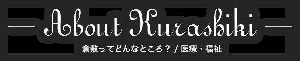 About Kurashiki 倉敷ってどんなところ? / 医療・福祉